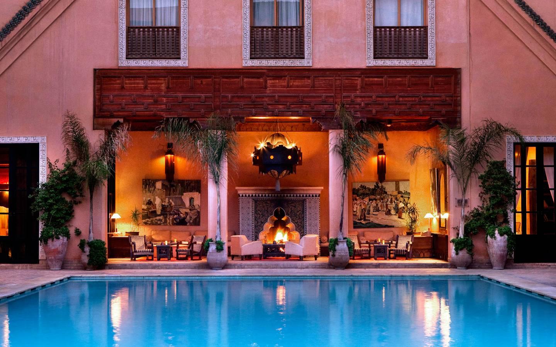 5 Star Hotel Marrakech Les Jardins De La Koutoubia