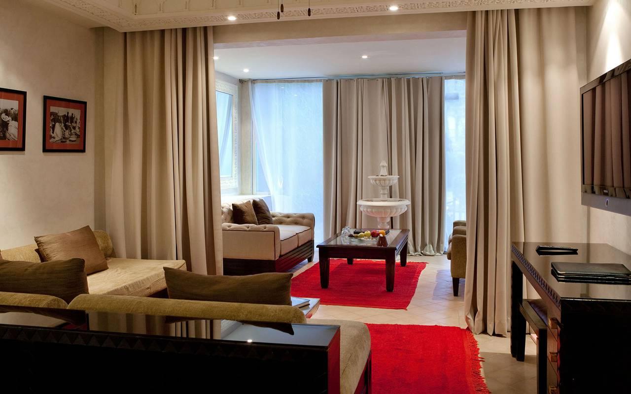 luxurious room koutoubia marrakech