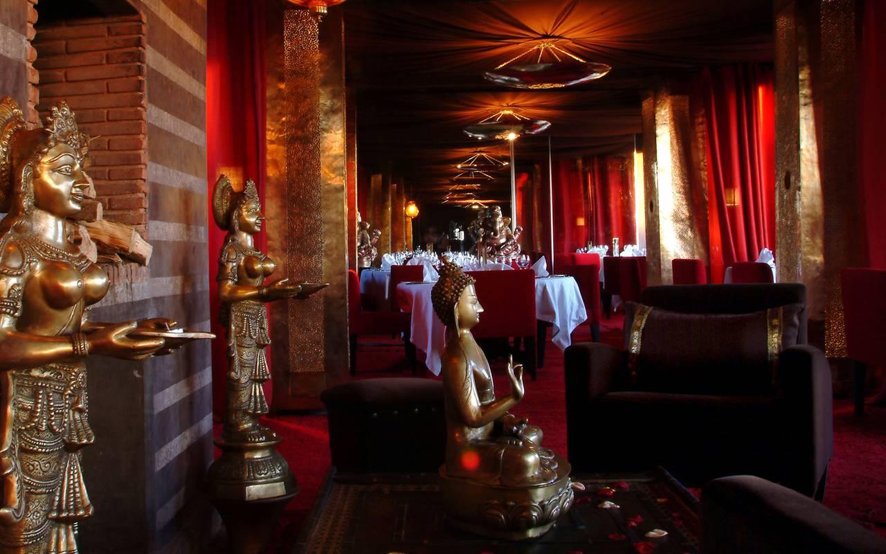 Bala's gardens restaurant Marrakech