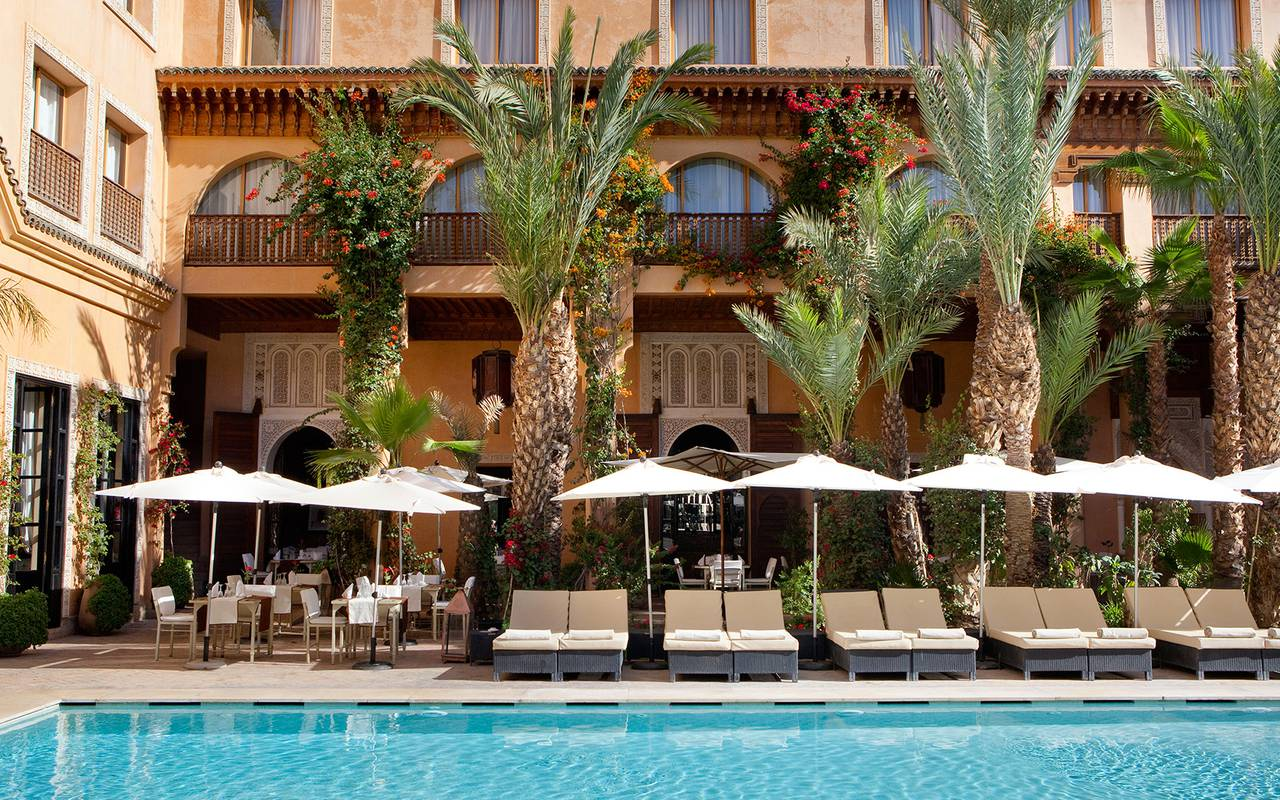 swimming pool terrace koutoubia Marrakech