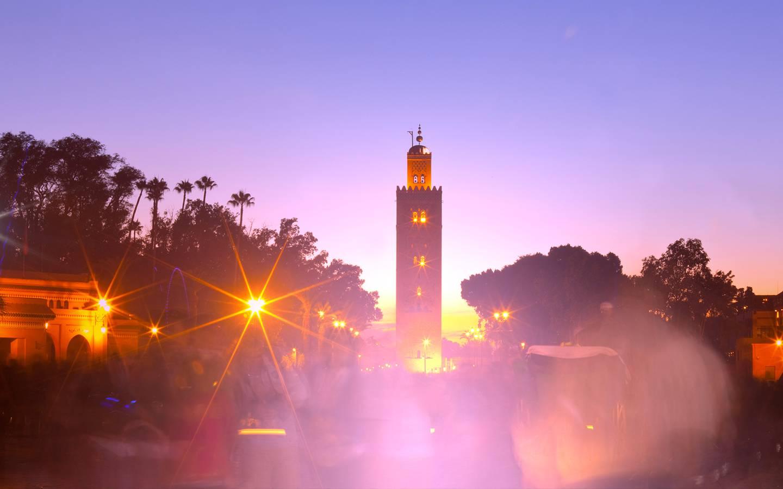 Tourisme Marrakech Maroc Jardins De La Koutoubia