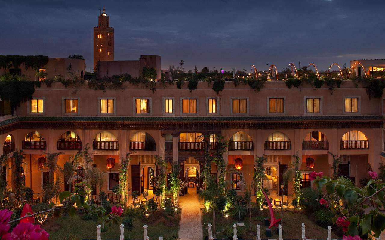 H tel de luxe marrakech les jardins de la koutoubia for Le jardin de la medina
