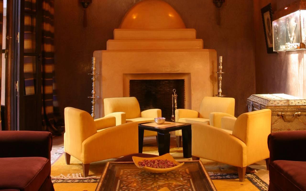 salon marocain hôtel koutoubia