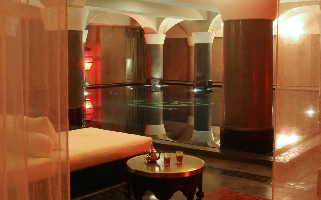 Hammam luxueux à Marrakech