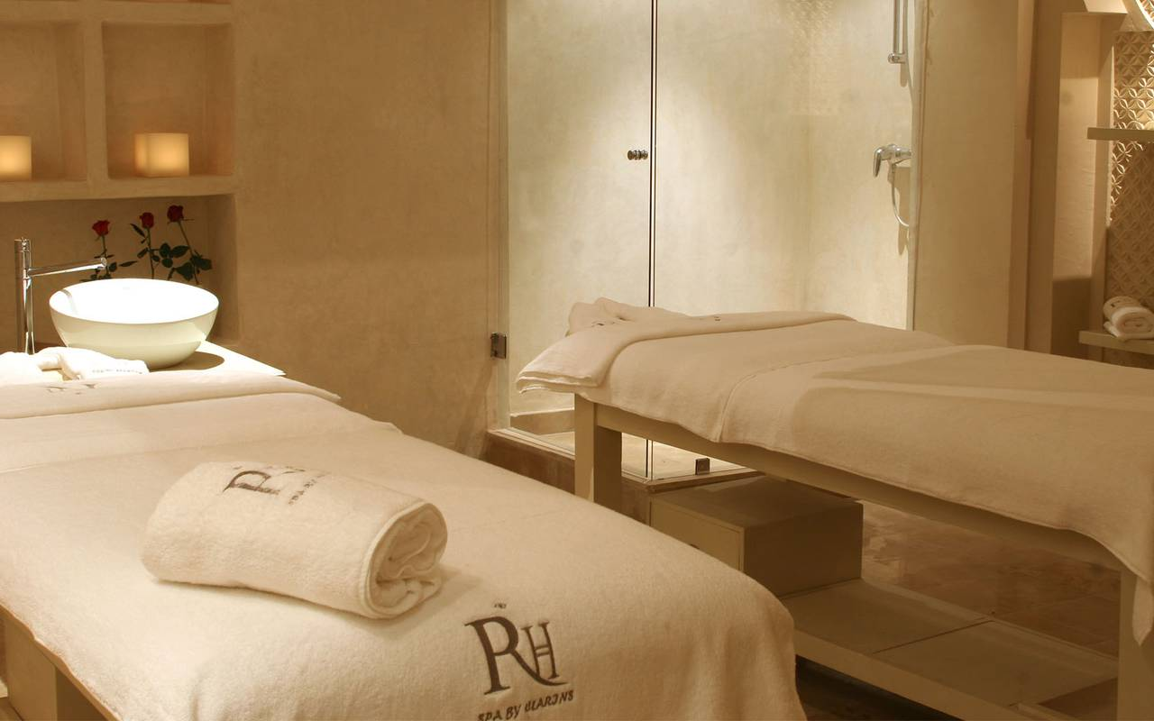 luxueuse cabine de massage