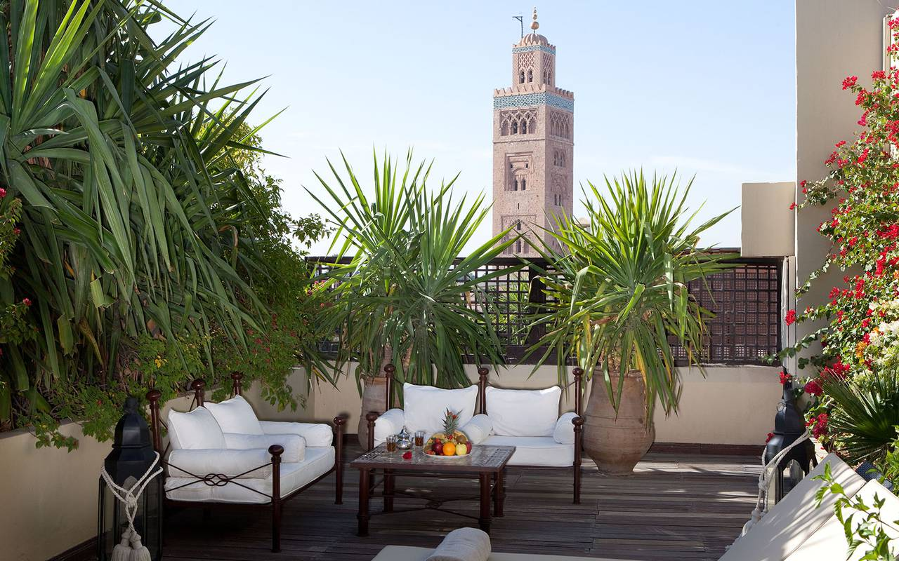terrasse de la suite ouarzazi